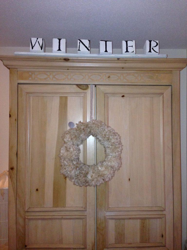 DIY Pom Pom Wreath Our Crafty Mom