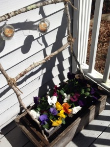 Early Spring Front Porch