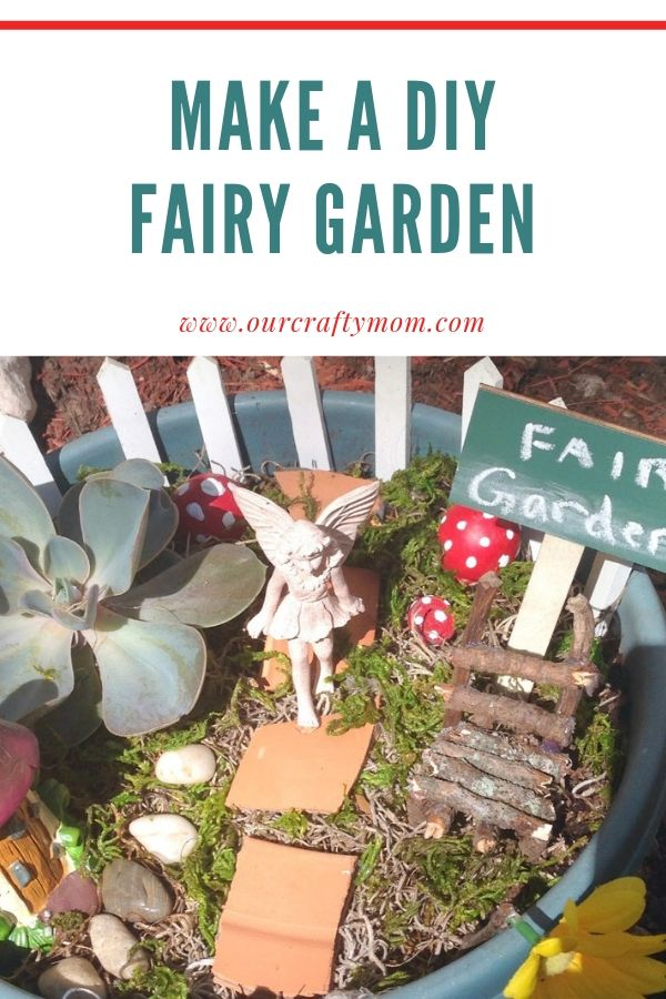make a diy fairy garden