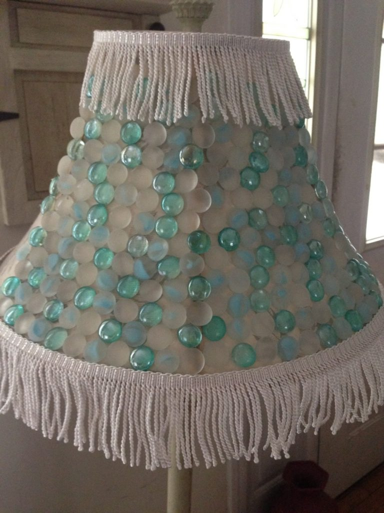Marble Lampshade Our Crafty Mom 2