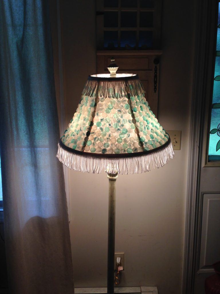 Marble Lampshade Our Crafty Mom