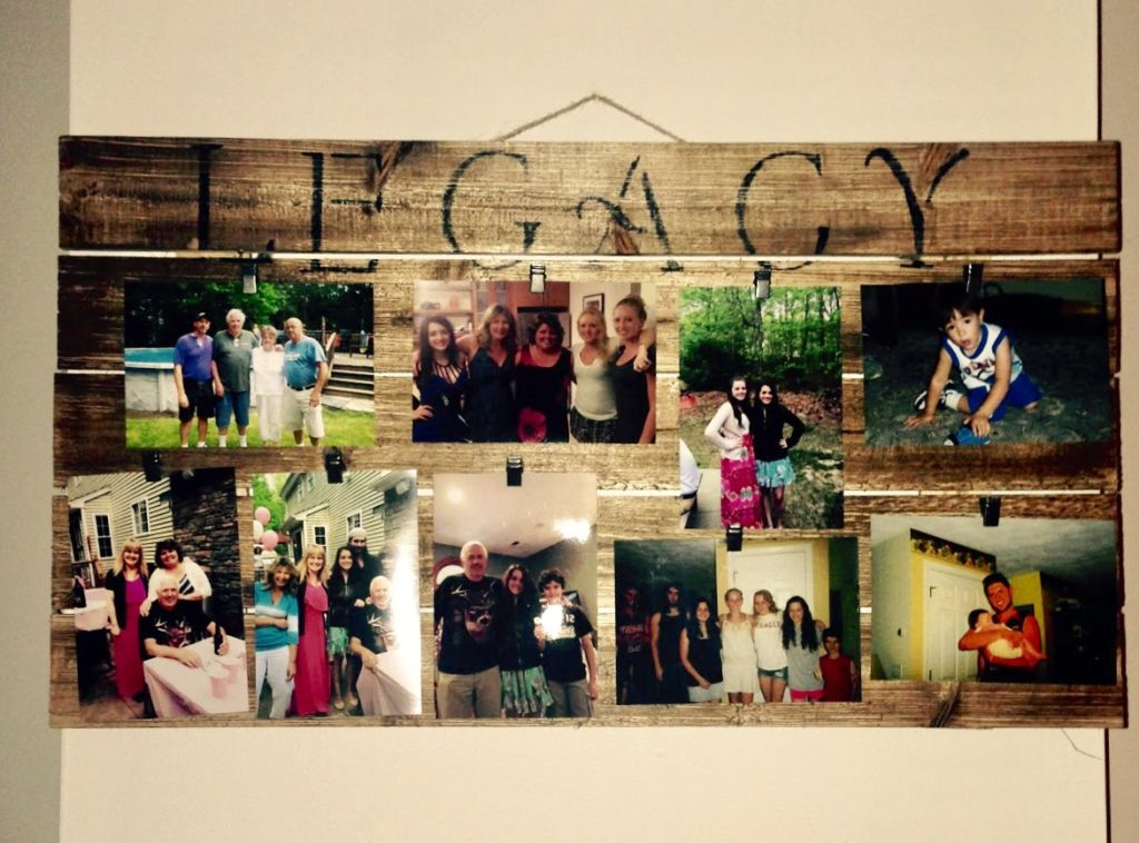 DIY Pallet Legacy Board Our Crafty Mom