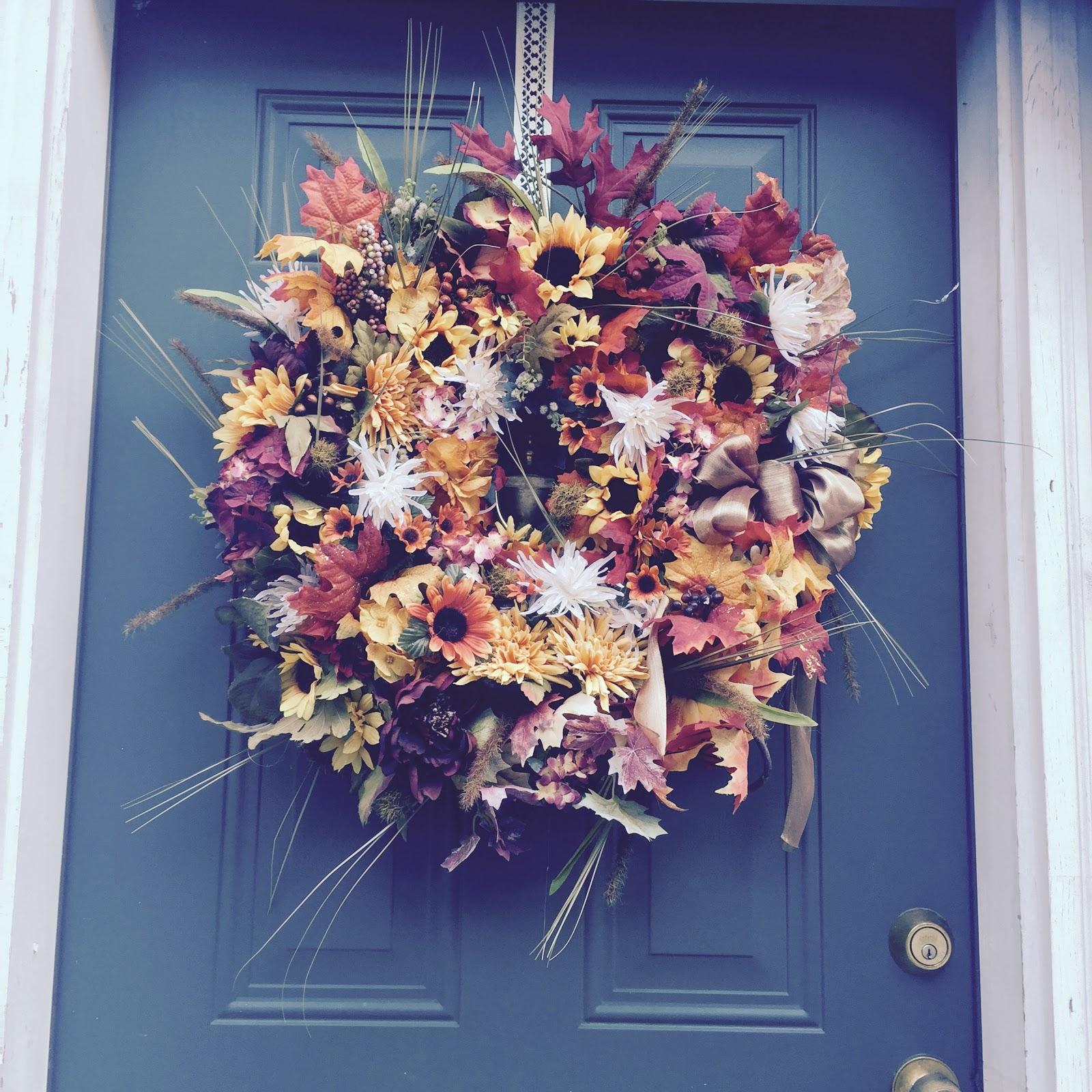 Double Fall Wreath