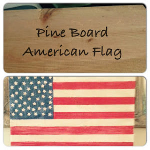 DIY Wood Flag
