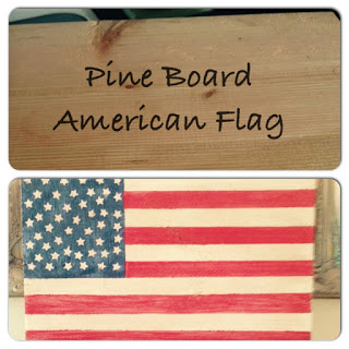 DIY Wood Flag