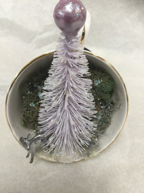 tea cup ornament