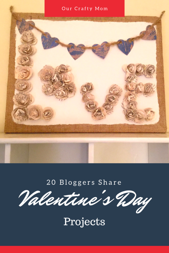 Valentine's Day Blog Hop Our Crafty Mom