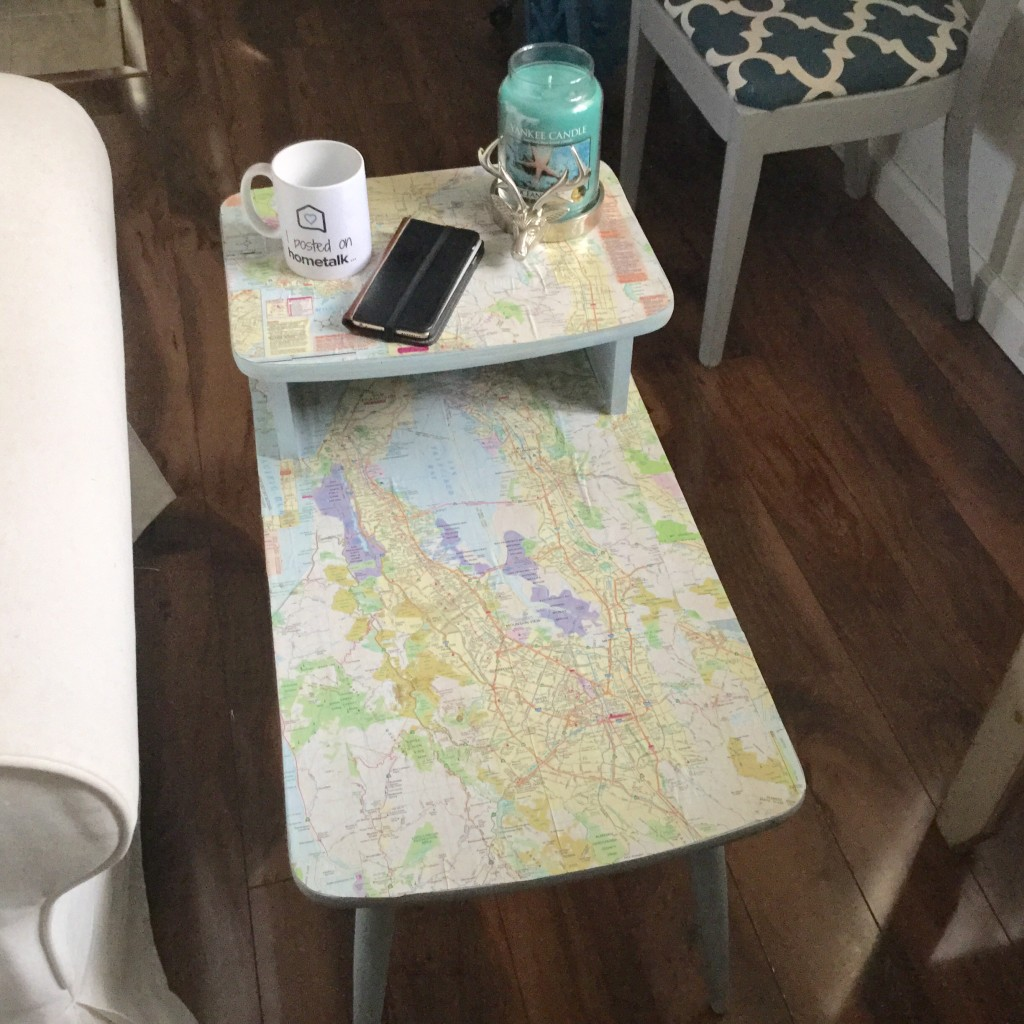 DIY Map Table