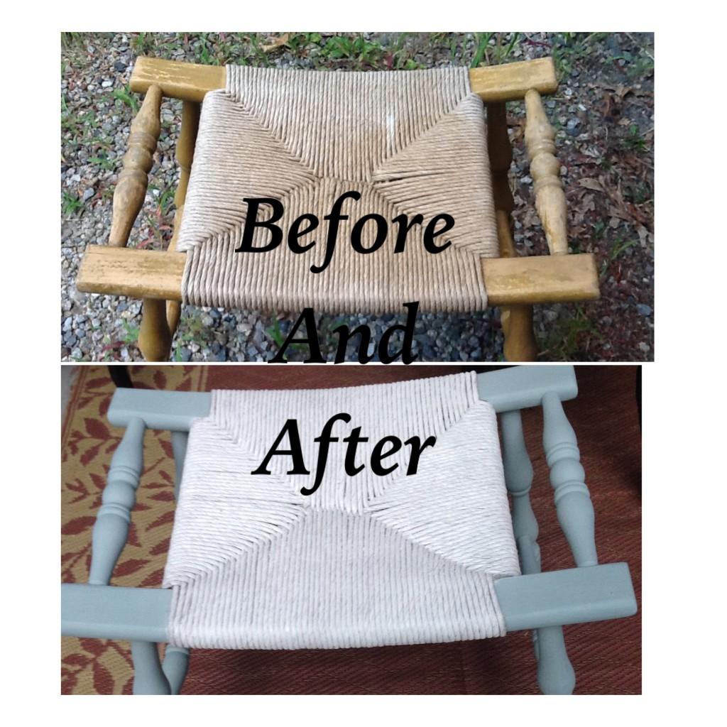 cane bench