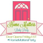 Home Matters Linky Party #112