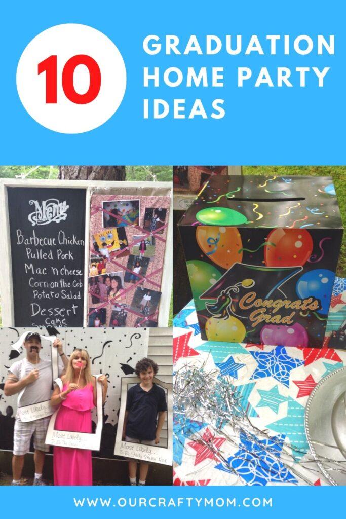 10 home graduation ideas