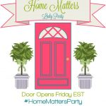 Home Matters Linky Party #107