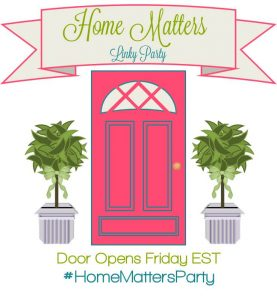 Home Matters Linky Party #95