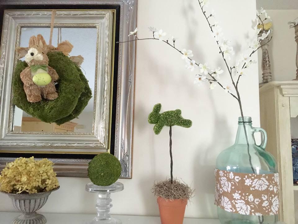 Spring Decorating Silk Flowers
