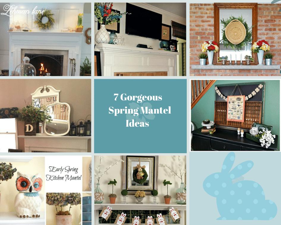 7 Gorgeous Spring Mantel Ideas