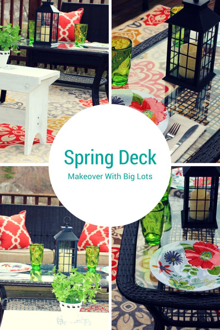 Spring deck makeover