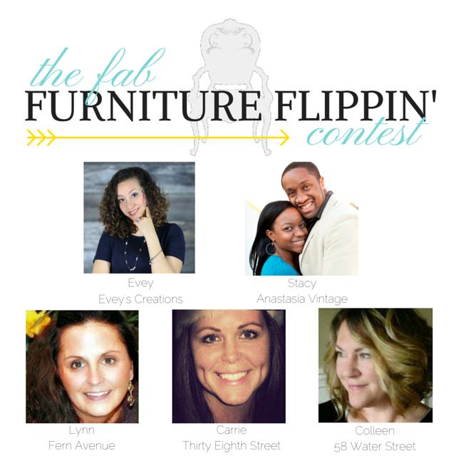 April Fab Furniture Flippin' Refinished Dresser