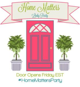 Home Matters Linky Party #100