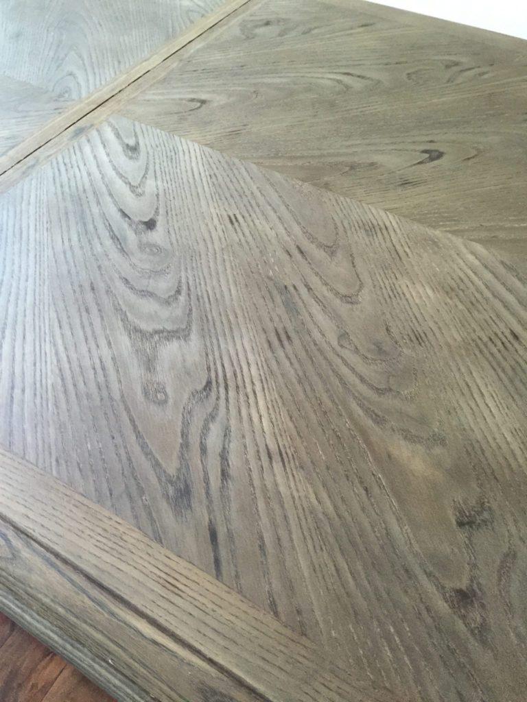 DIY Restoration Hardware Weathered Oak Dining Table
