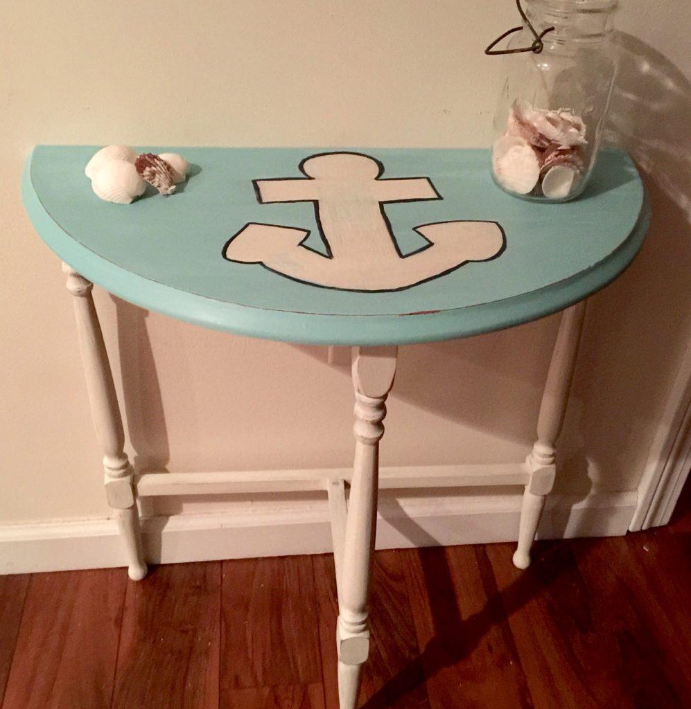 DIY Anchor Table
