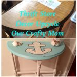 Thrift Store Decor Upcycle Challenge May