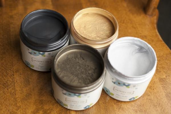 Metallic cream