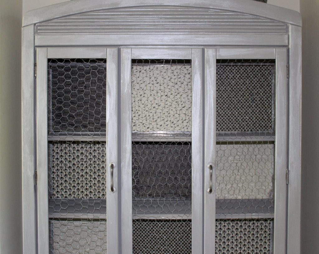 Refinished Hutch Metallic