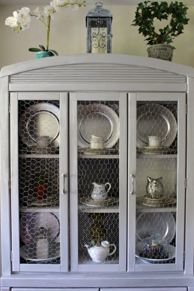 Updated Metallic Hutch
