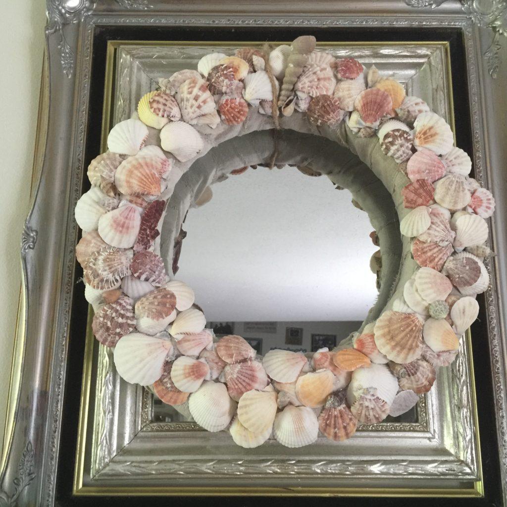 Seashell Wreath Tutorial