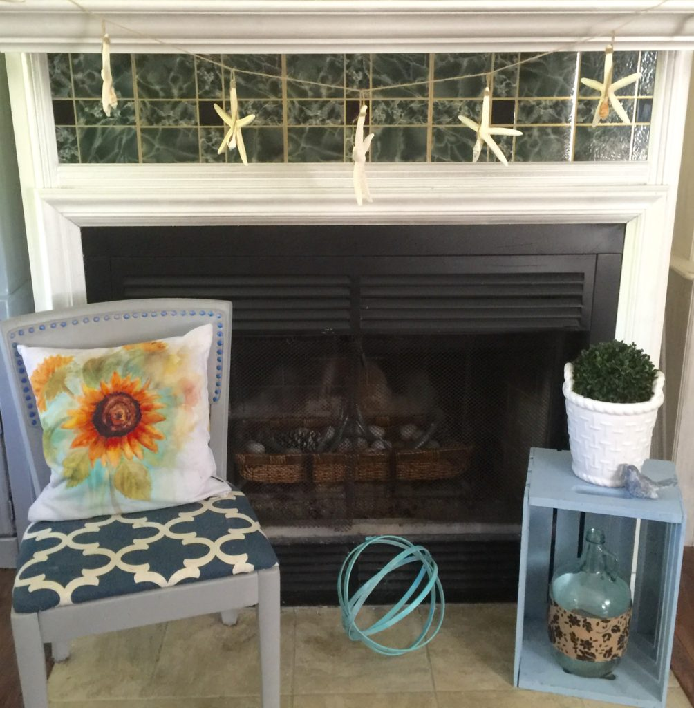 Summer Mantel Update