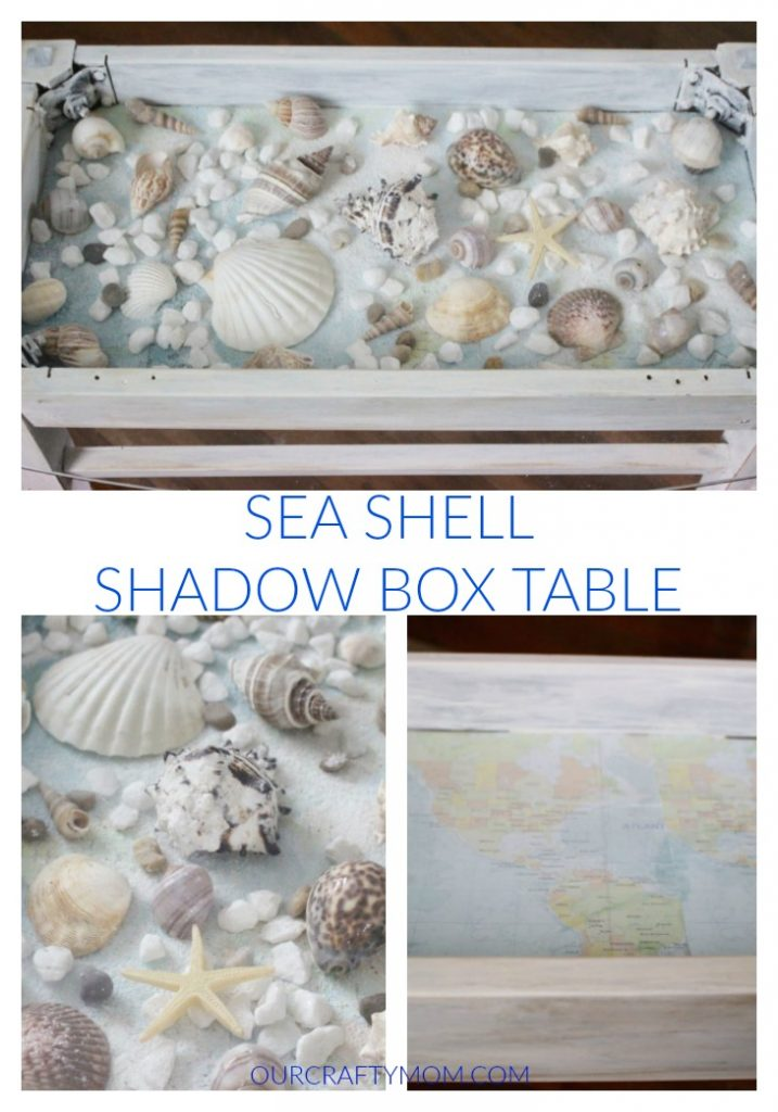 sea shell table