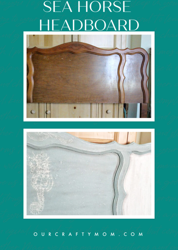 diy sea horse headboard