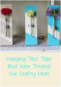 Hanging Test Tube Bud Vases