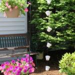 DIY Clay Pot Rain Chain