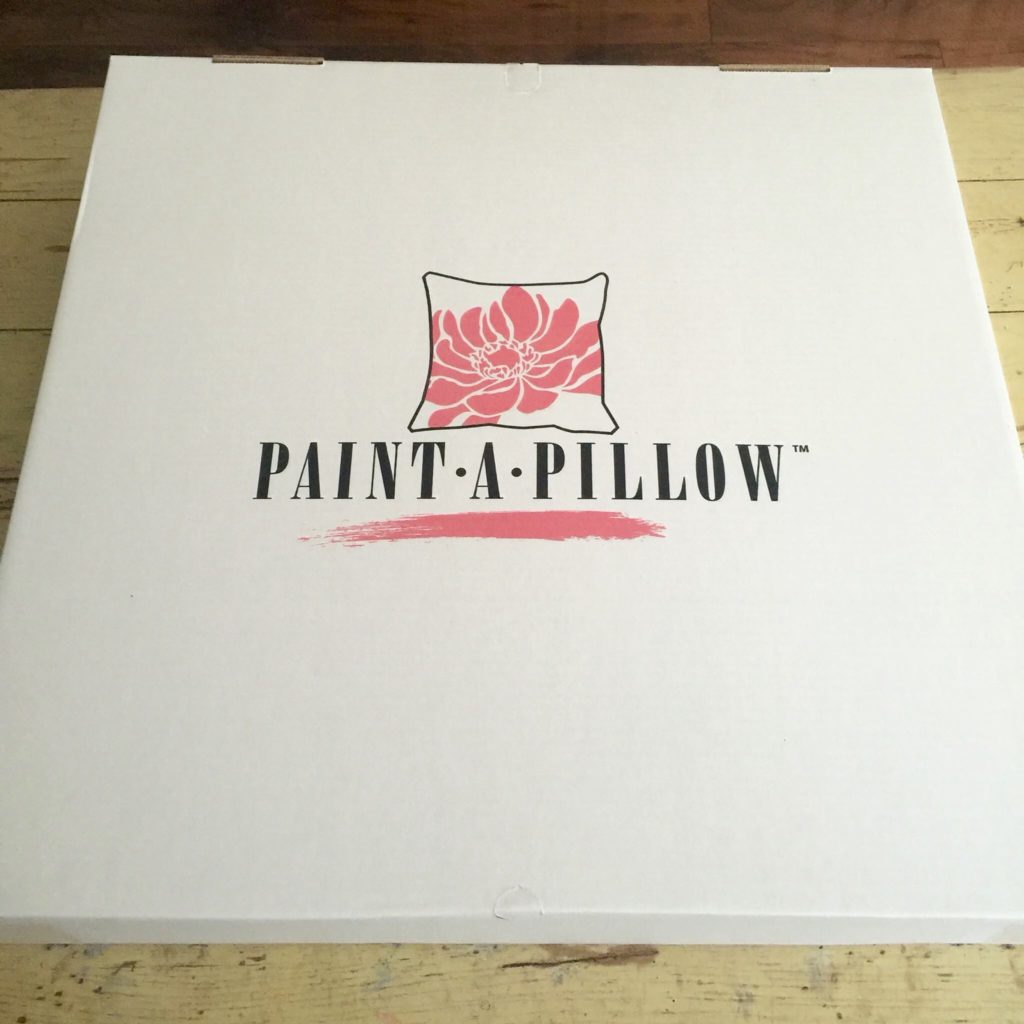 DIY Stencil Pillow Kit