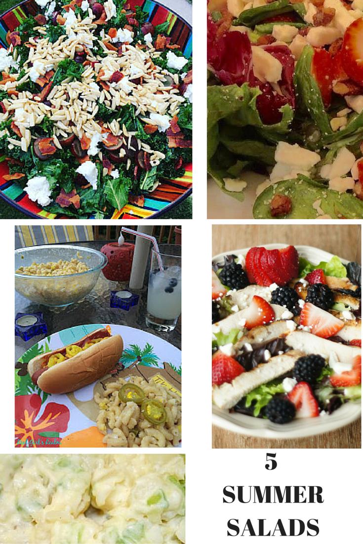 5 Quick & Easy Summer Salad Recipes