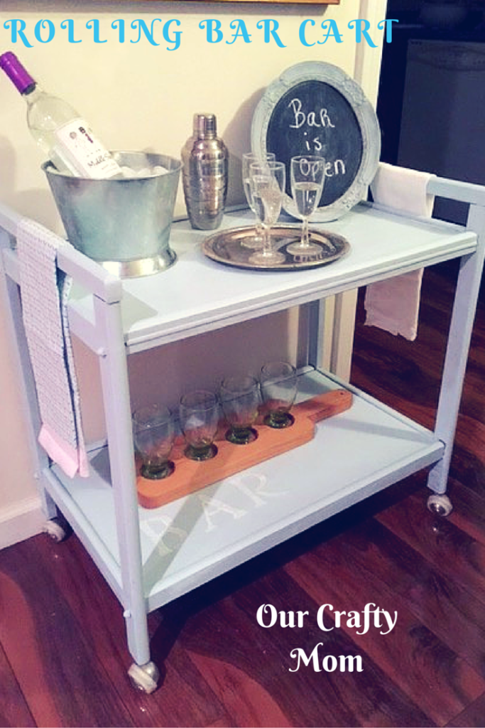 DIY_Rolling_Bar_Cart