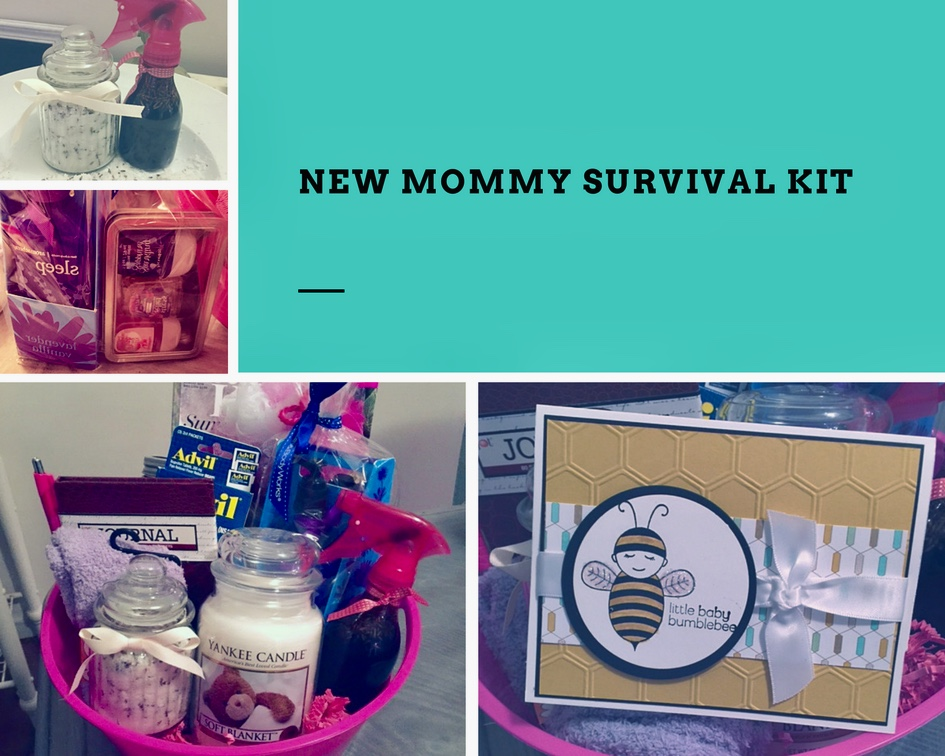 New mom survival kit
