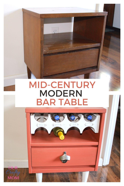 mid century modern bar