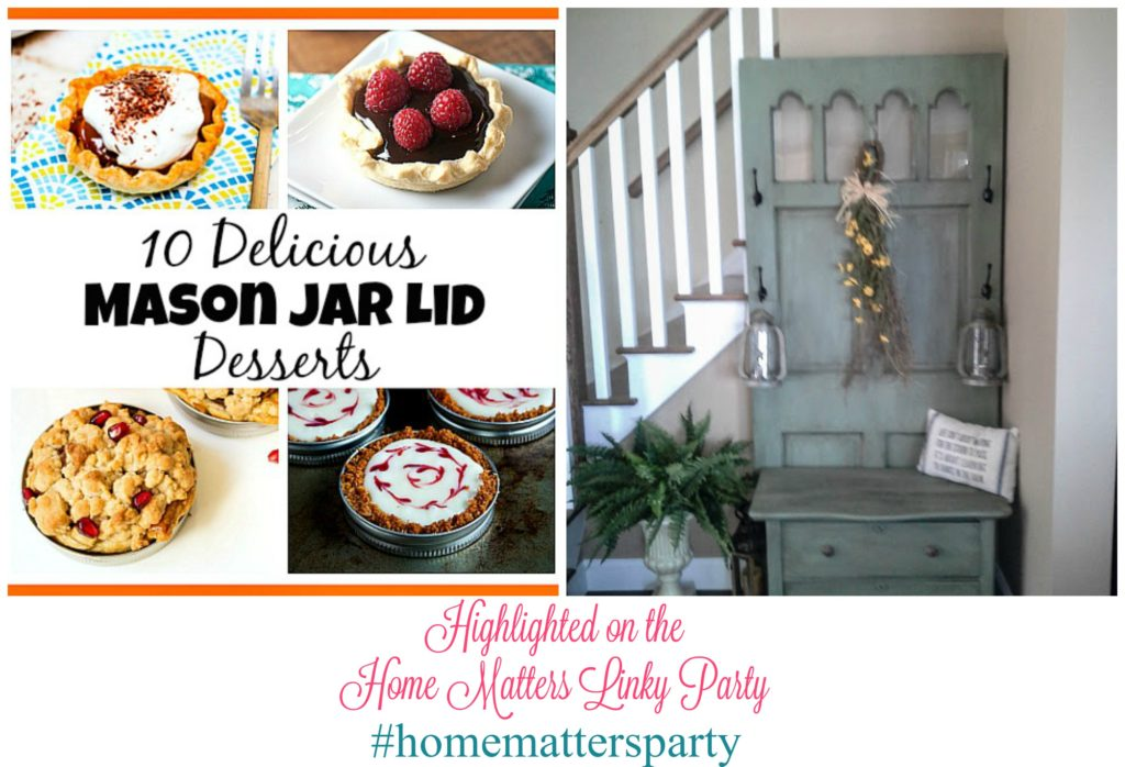Home Matters Linky Party #104 - Come join the fun and link your blog posts -- Door Opens Friday EST. #HomeMattersParty #Linky #Blogging