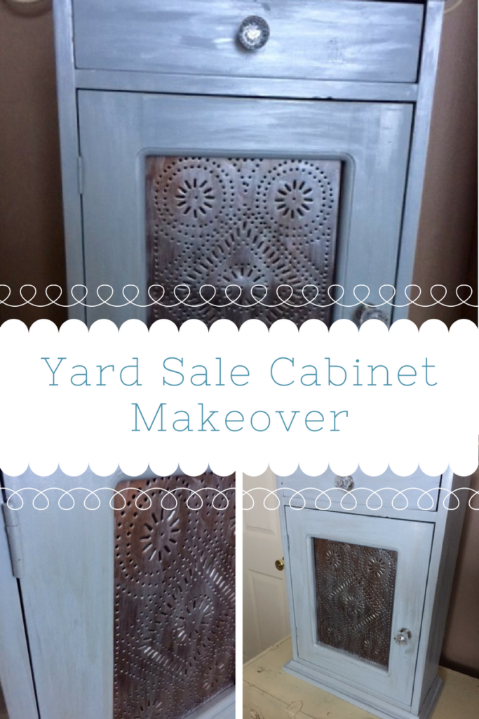 Thrift Store Upcycle Yard Sale Cabinet Our Crafty Mom