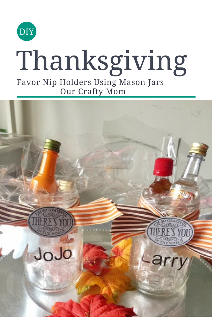 Thanksgiving Favor Nip Holders Our Crafty Mom