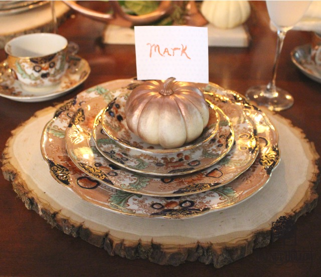 Rustic Glam Fall Tablescape Walnut Hollow