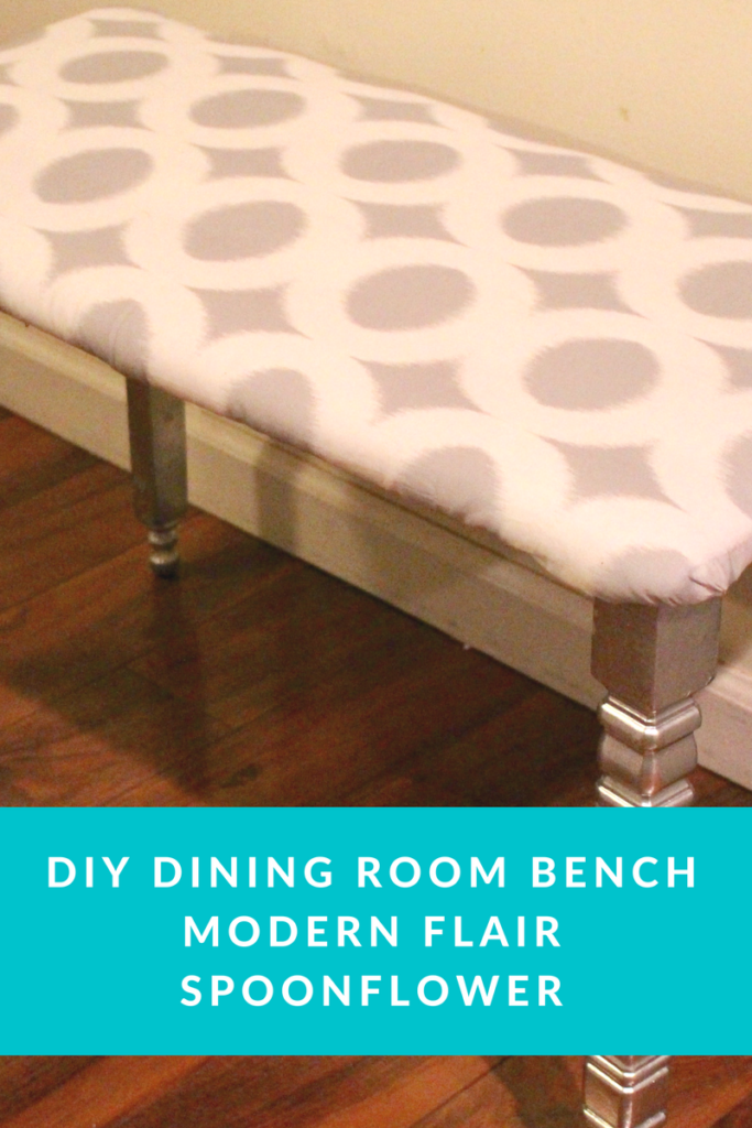 DIY DINING ROOM BENCH OUR CRAFTY MOM