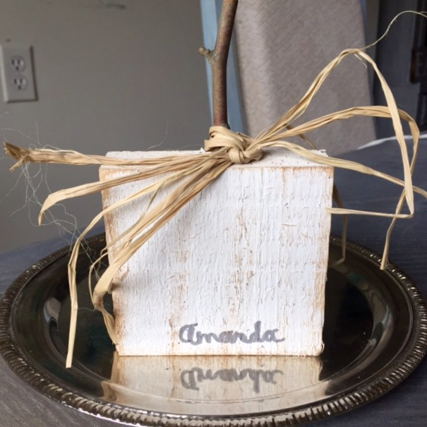 DIY Shabby Wood Pumpkins Our Crafty Mom