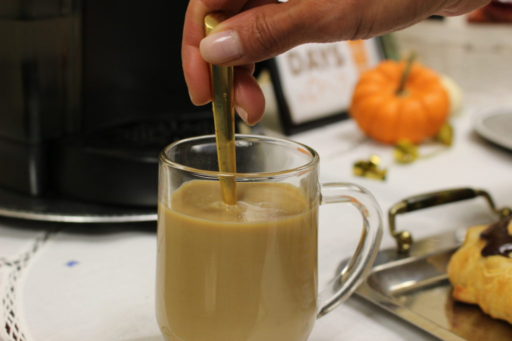 Enjoy A Fall Brunch Starbucks Caffe Latte K-Cup Latte