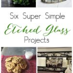 DIY Cookies For Santa Glass Etched Plate