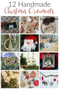 12 Days of Christmas Blog Hop-Day 8 Handmade Christmas Ornaments