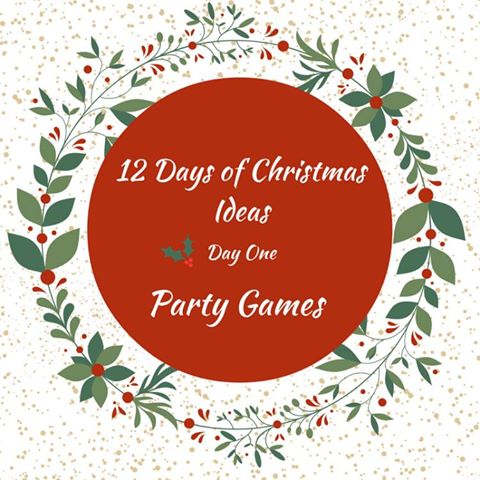 12 Days of Christmas Blog Hop-Day 1 Christmas Party Games Our Crafty Mom