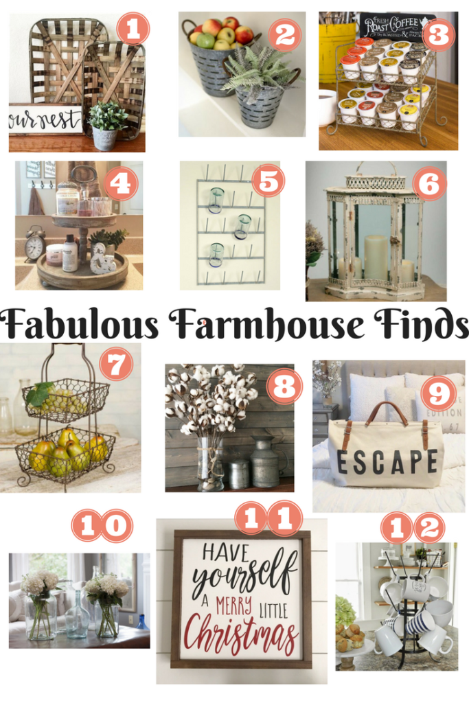 Holiday Gift Guide Farmhouse Edition With Painred Fox Home Our Crafty Mom